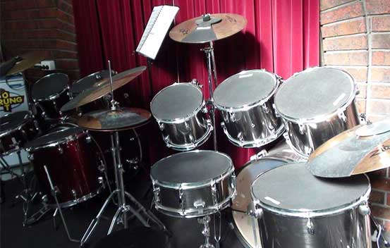 Drum Lessons and Sheet Music Available