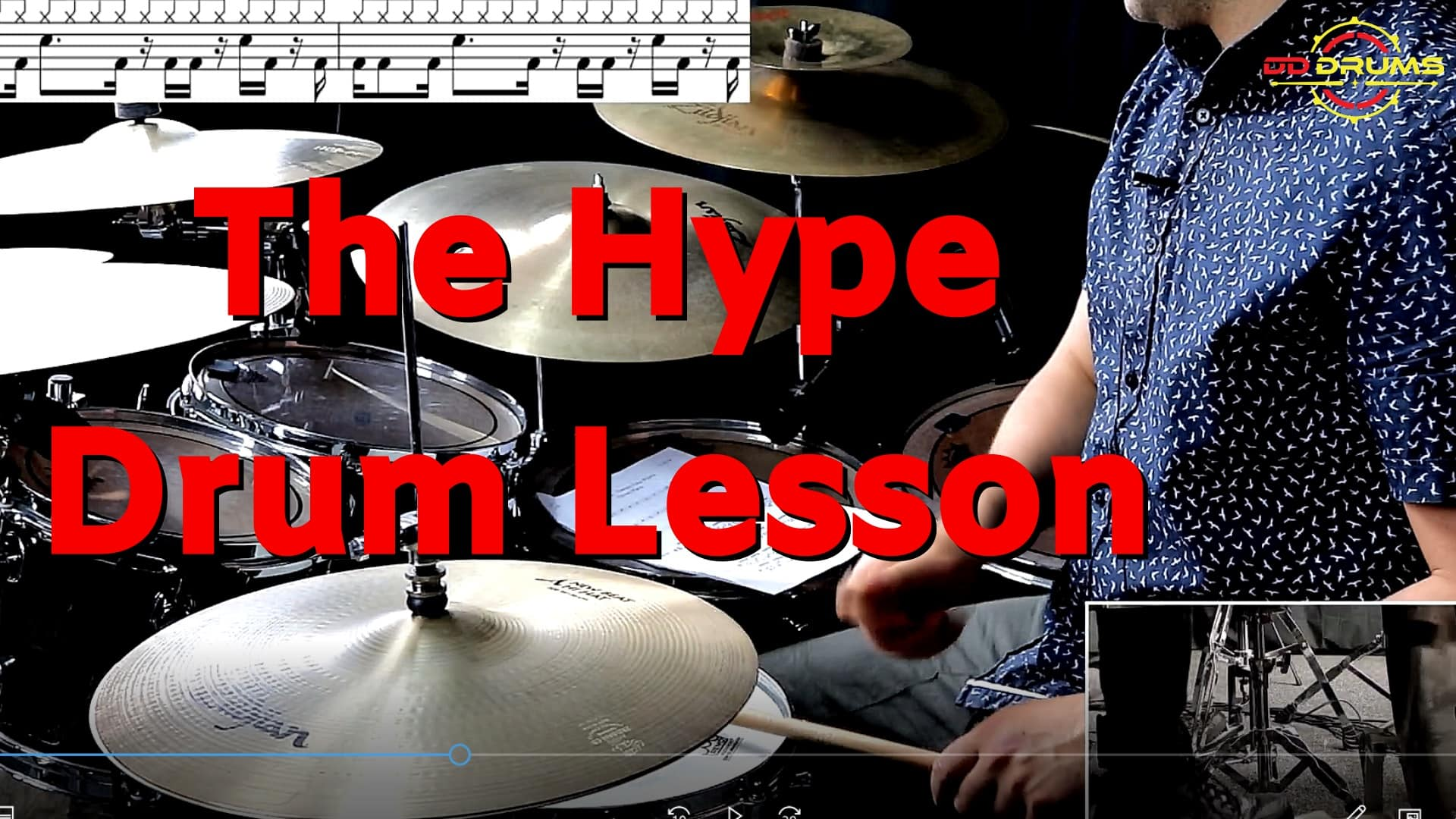 How to play 'The Hype' – Twenty One Pilots – Drum Lesson