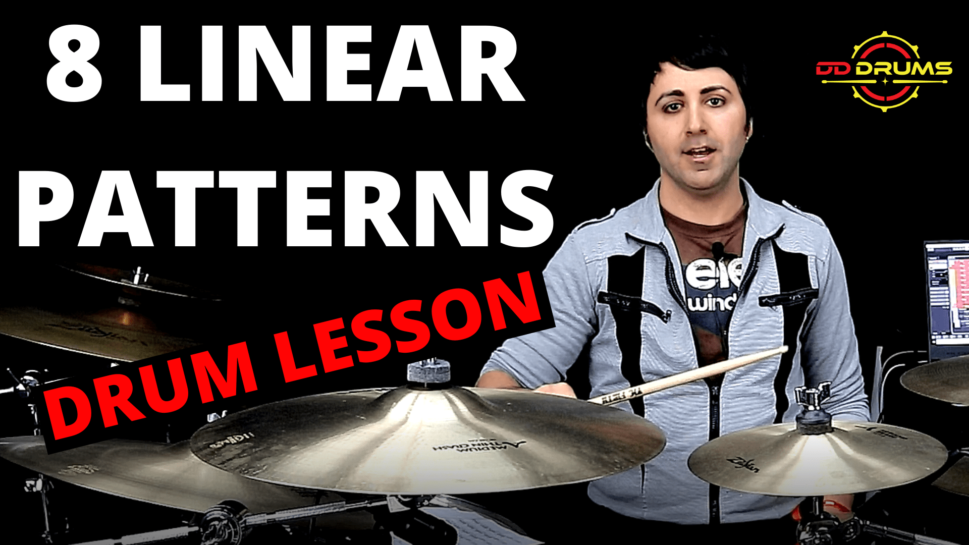 8 Must Learn Linear Patterns – Drum Lesson