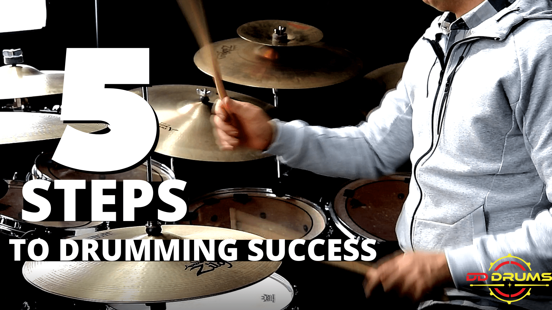 5 Steps to massively improve your drumming