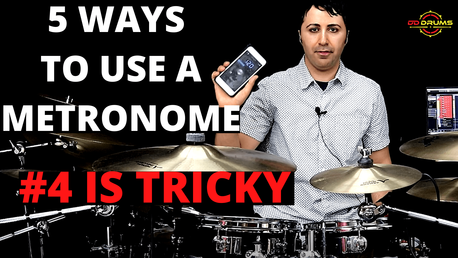 How to massively improve your timing on drums – Drum Lesson