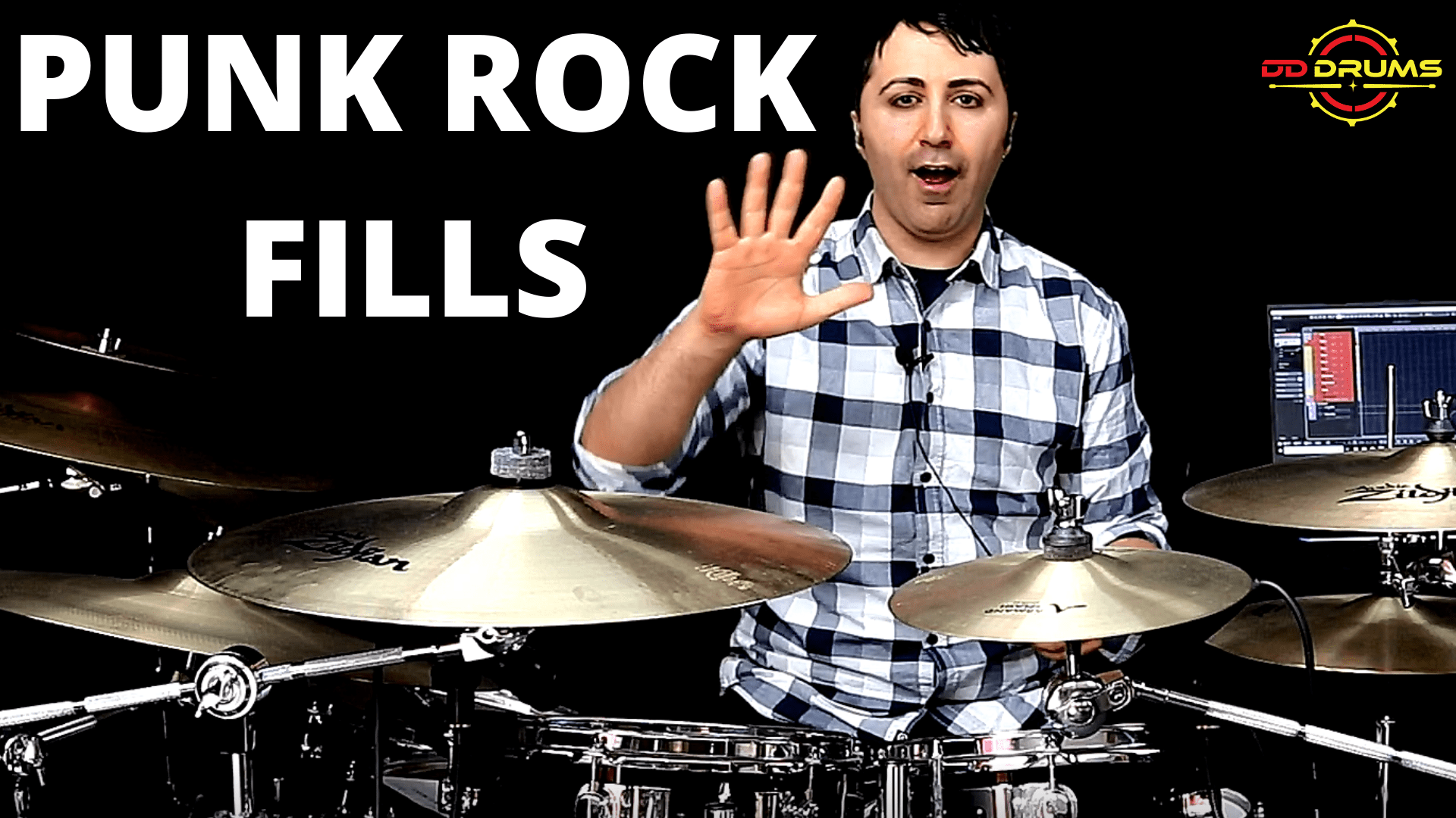 5 Must Learn Punk Rock Fills for Beginners – Drum Lesson