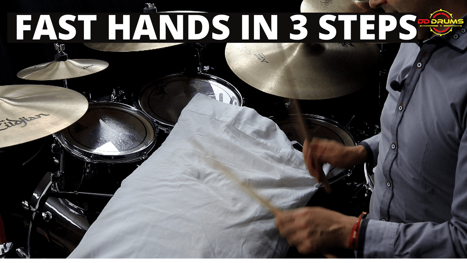 How to Develop Fast Hand Speed – Drum Lesson