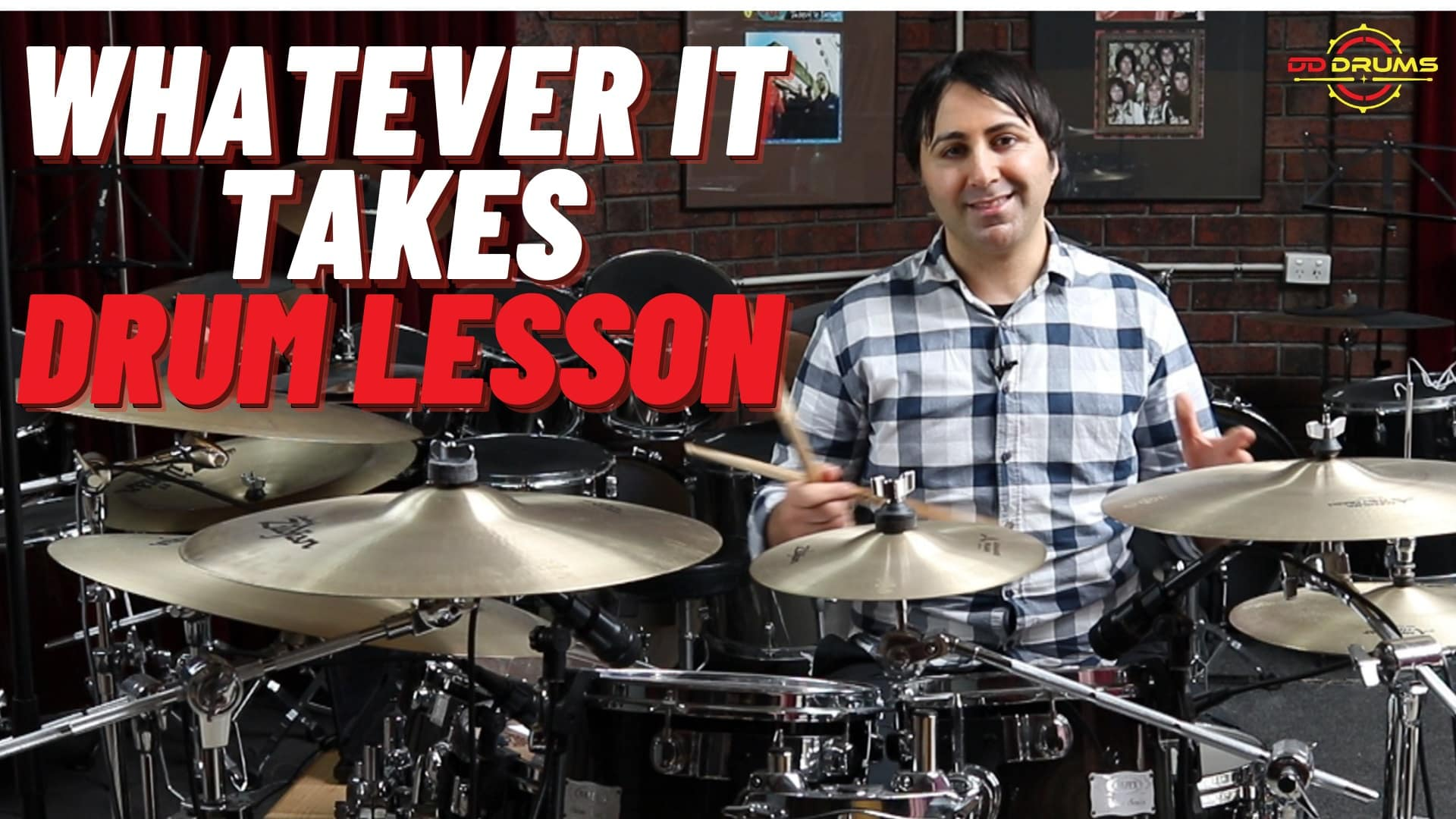 How to play 'Whatever it Takes' on Drums – Imagine Dragons – Drum Lesson
