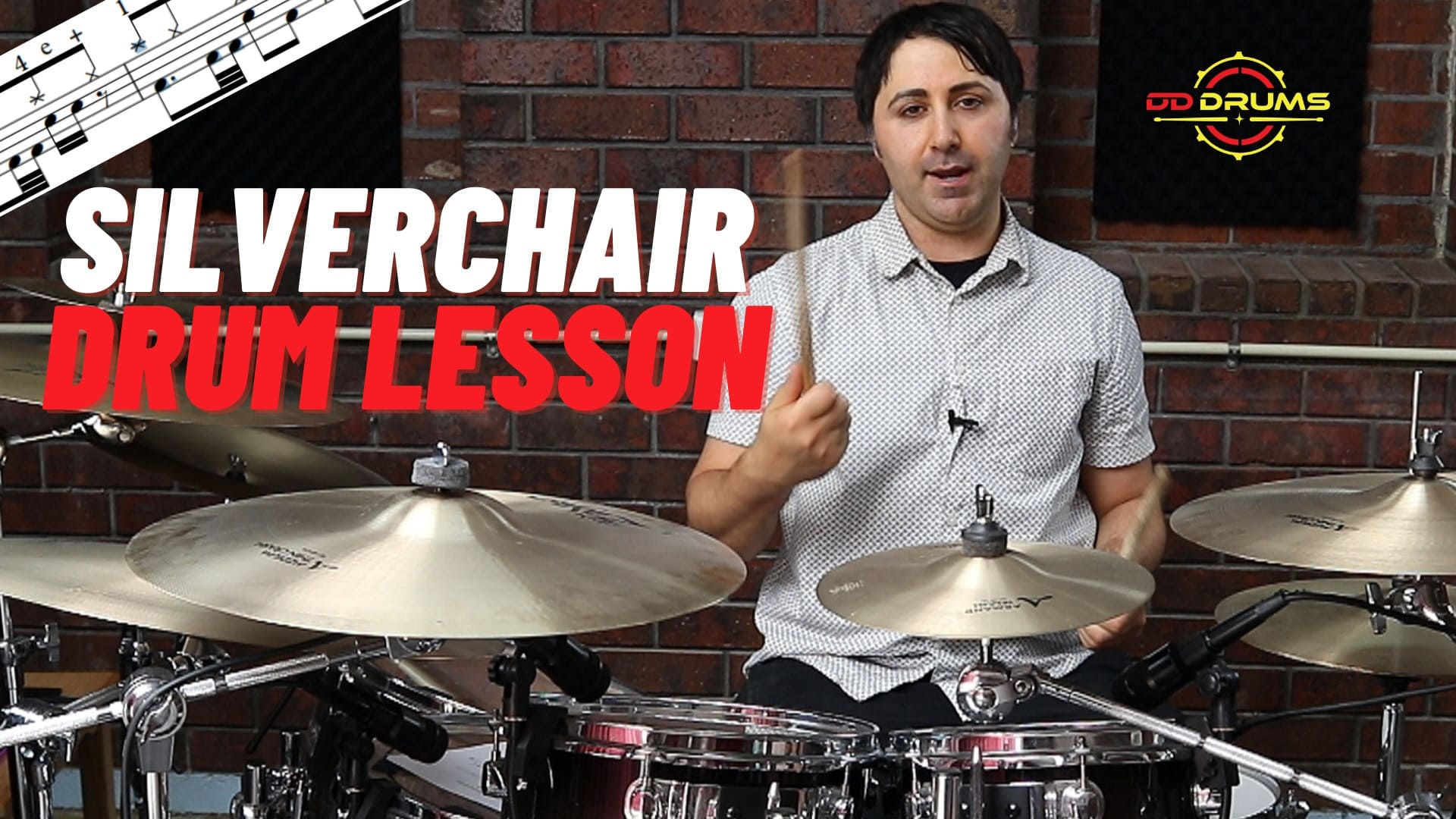 How to play Silverchair's 'Tomorrow' on Drums – Drum Lesson