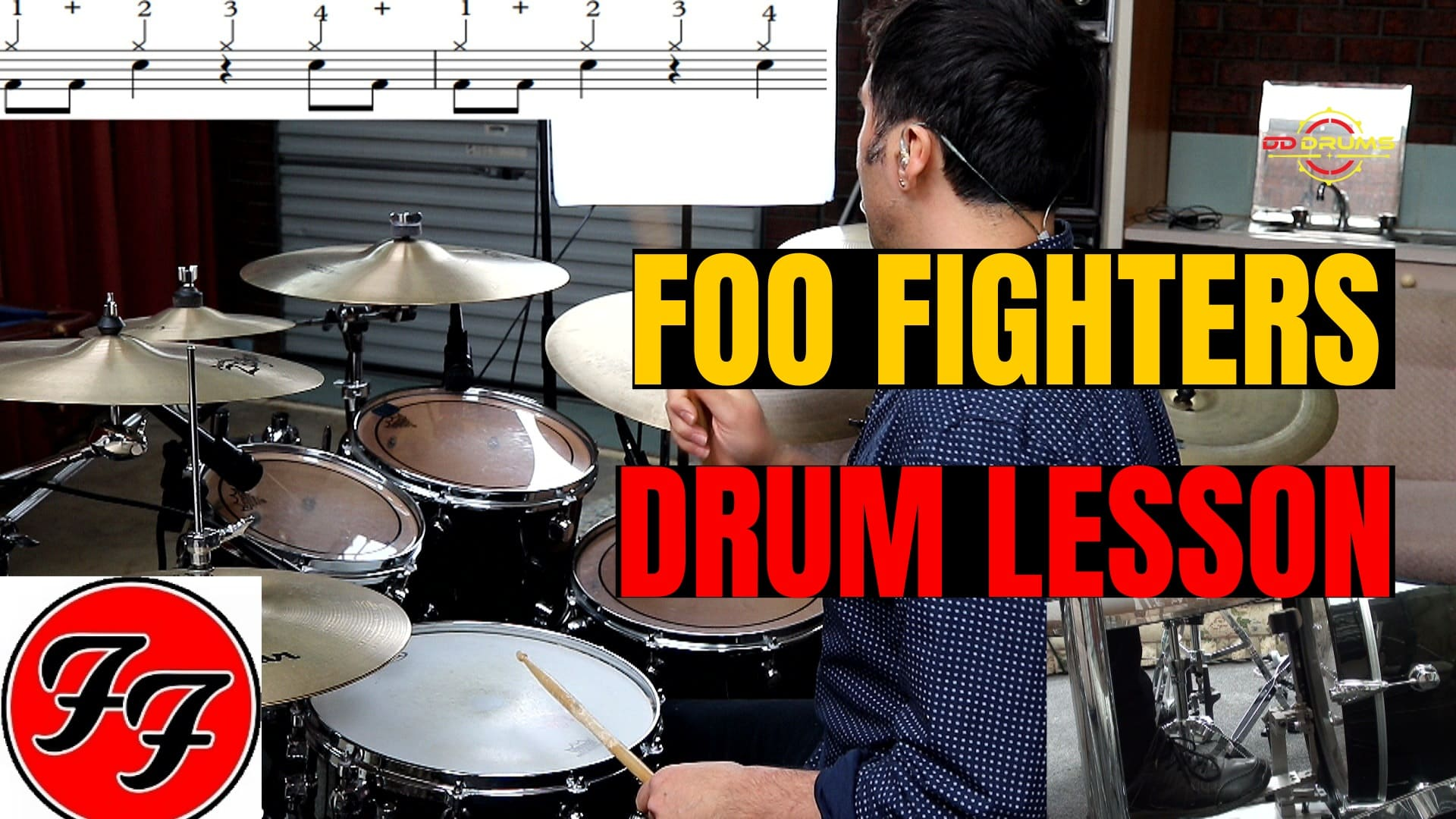 How to play 'The Pretender' by Foo Fighters on Drums – Drum Lesson